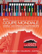 Congress Salzburg - 67. COUPE MONDIALE World Accordion Championships